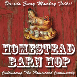 Check out some great new posts every Monday at the Homestead Barn Hop!  http://newlifeonahomestead.com