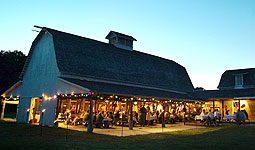 Barn at the lodge: pic courtesy of Lied Lodge
